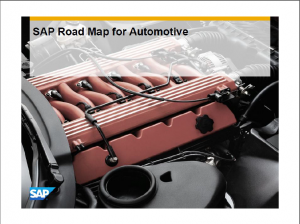Road Map for Automotive